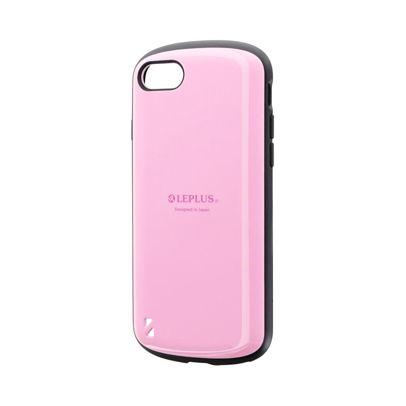 iPhone SE (第2世代)/8/7 耐衝撃ハイブリッドケース「PALLET」 ピンク