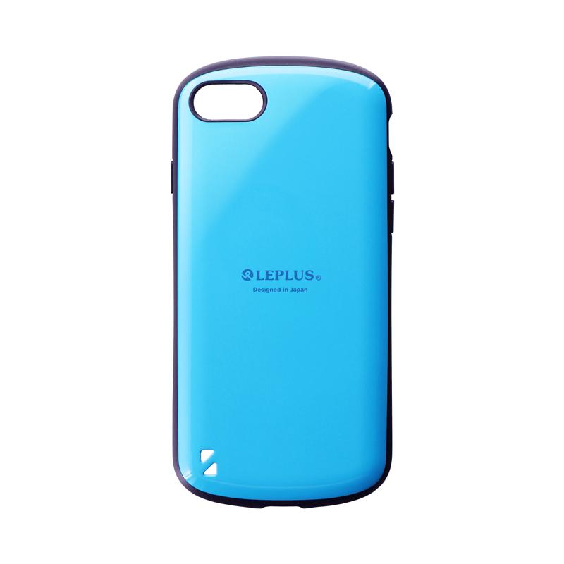 iPhone SE (第2世代)/8/7 耐衝撃ハイブリッドケース「PALLET」 スカイブルー