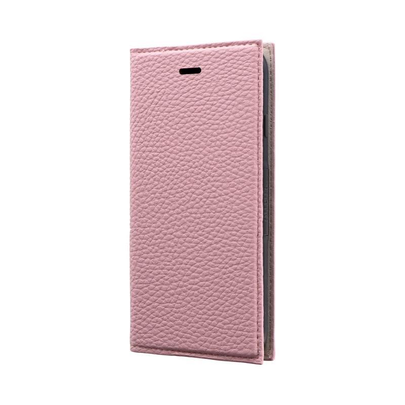 iPhone SE (第2世代)/8/7 薄型PUレザーフラップケース「FOLINO」 ライトピンク