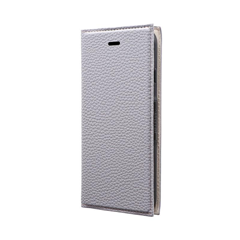 iPhone SE (第2世代)/8/7 薄型PUレザーフラップケース「FOLINO」 ライトラベンダー