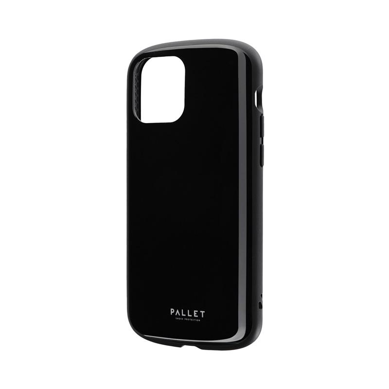 iPhone 12/iPhone 12 Pro 超軽量・極薄・耐衝撃ハイブリッドケース「PALLET AIR」 ブラック