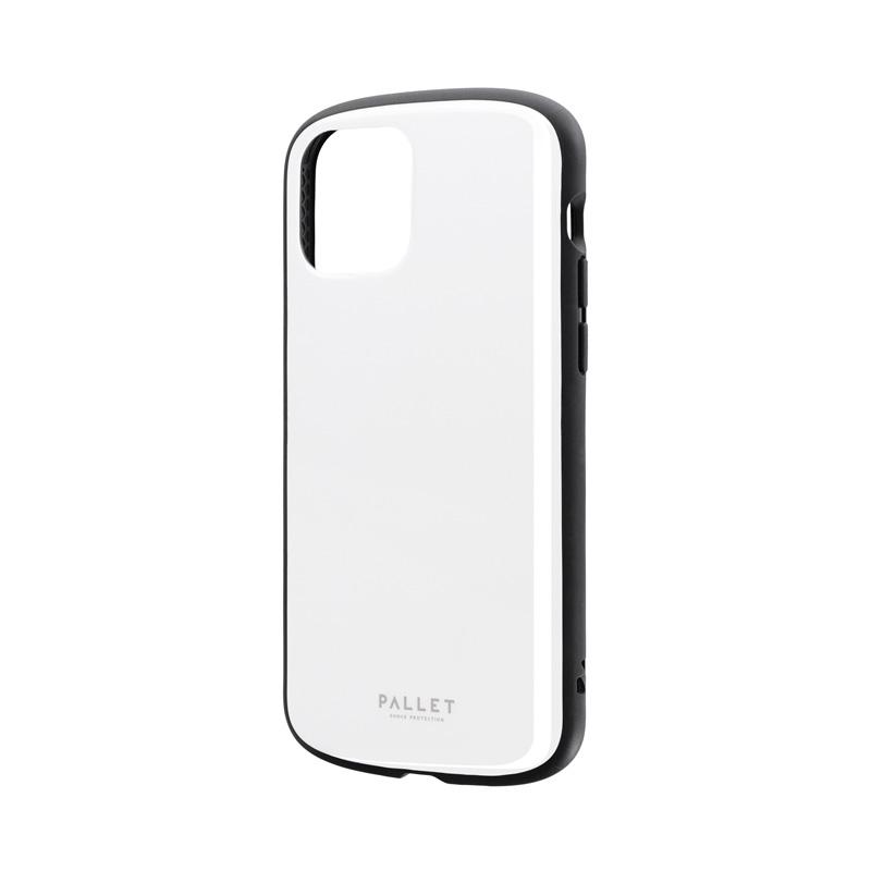 iPhone 12/iPhone 12 Pro 超軽量・極薄・耐衝撃ハイブリッドケース「PALLET AIR」 ホワイト