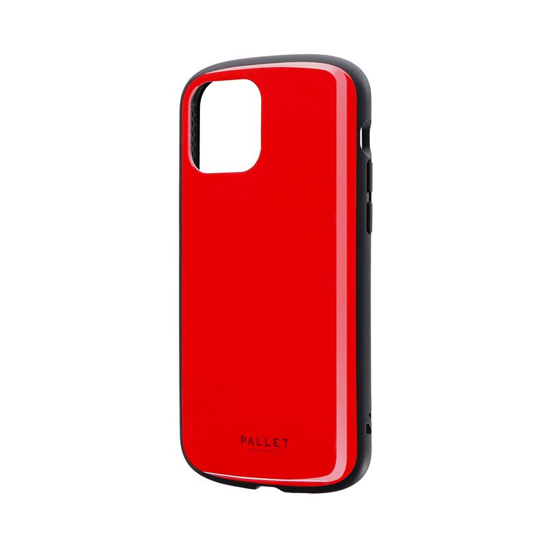 iPhone 12/iPhone 12 Pro 超軽量・極薄・耐衝撃ハイブリッドケース「PALLET AIR」 レッド
