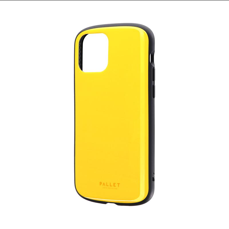 iPhone 12/iPhone 12 Pro 超軽量・極薄・耐衝撃ハイブリッドケース「PALLET AIR」 イエロー