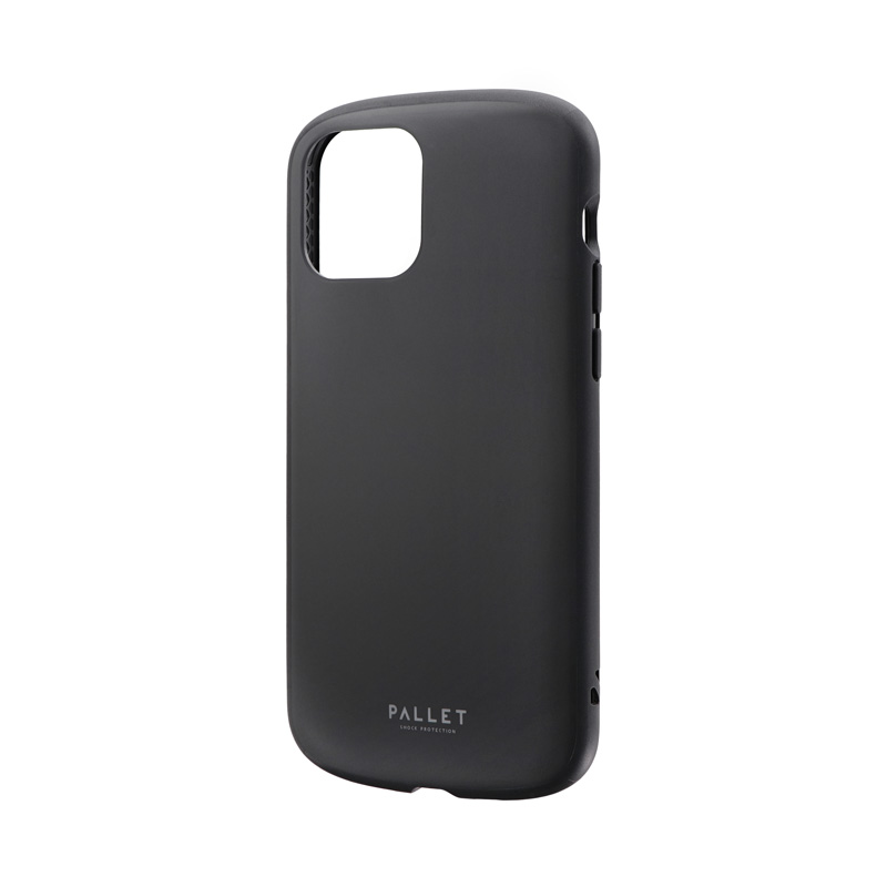 iPhone 12/iPhone 12 Pro 超軽量・極薄・耐衝撃ハイブリッドケース「PALLET AIR」 マットブラック