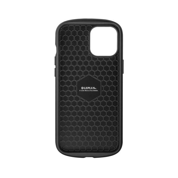 iPhone 12 Pro Max 超軽量・極薄・耐衝撃ハイブリッドケース「PALLET AIR」 ブラック