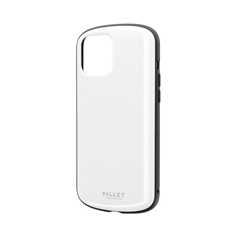iPhone 12 Pro Max 超軽量・極薄・耐衝撃ハイブリッドケース「PALLET AIR」 ホワイト