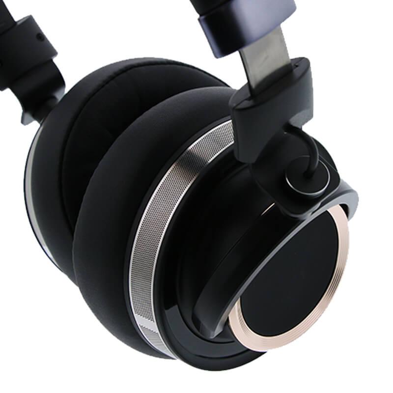 ヘッドフォン「極の音域 Hi-Res RIGEL(リゲル)」 ゴールド