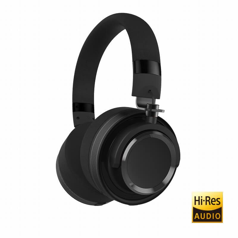 ヘッドフォン「極の音域 Hi-Res RIGEL(リゲル)」 ブラック