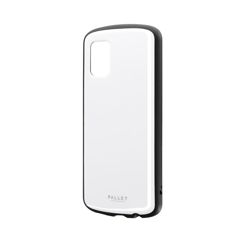 Galaxy A51 5G SC-54A/SCG07 耐衝撃ハイブリッドケース 「PALLET AIR」 ホワイト