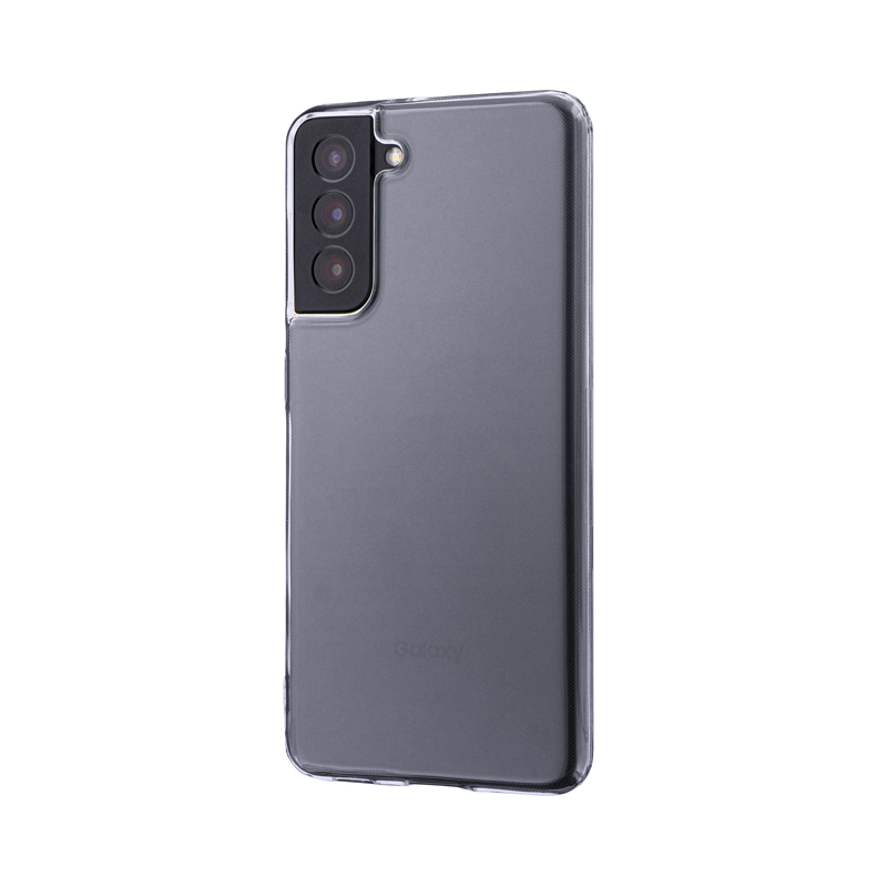 Galaxy S21 5G SC-51B/SCG09 ソフトケース「CLEAR Soft」 クリア