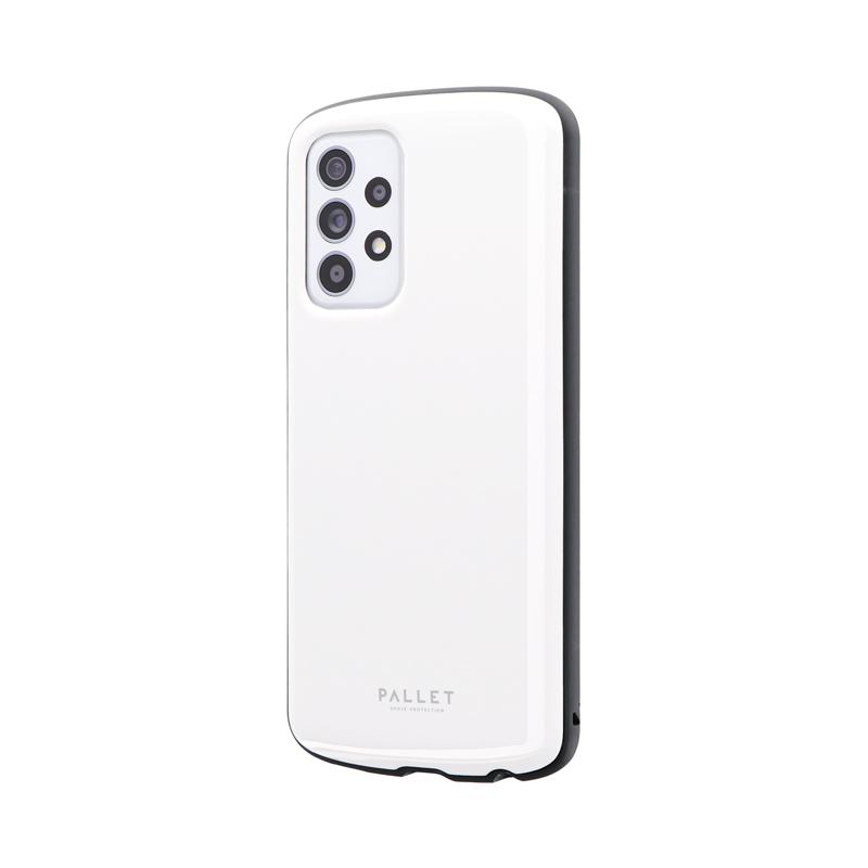 Galaxy A52 5G SC-53B 耐衝撃ハイブリッドケース 「PALLET AIR」 ホワイト