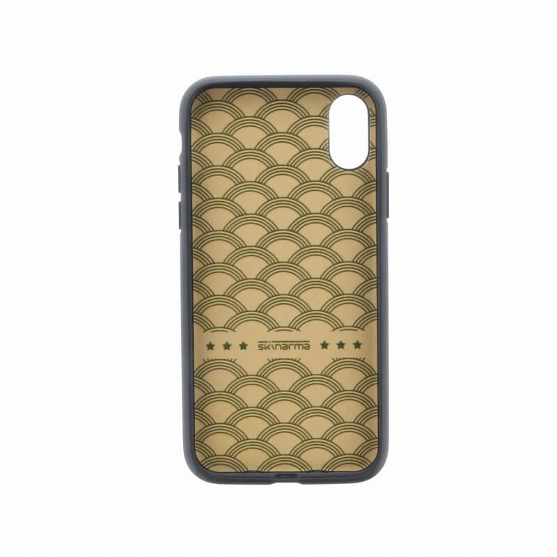 iPhone XS/iPhone X シェルケース/ハンドメイドスタッズ/Ambush Collection/Military
