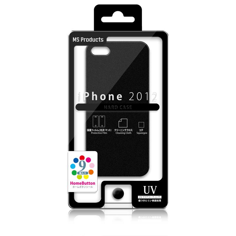 iPhone 2012 ハードケース ブラック