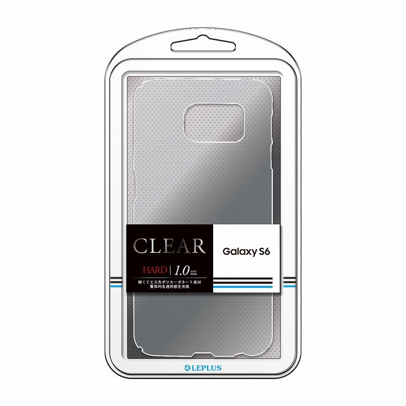 Galaxy S6 SC-05G ハードケース 「CLEAR HARD」 クリア