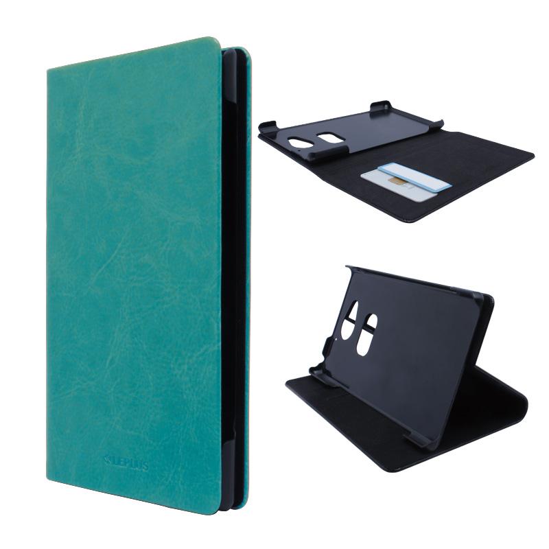 AQUOS ZETA SH-03G ブックタイプPUレザーケース「PRIME」 ブルー
