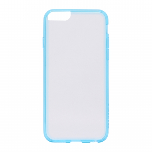 iPhone 6/6S [ZERO HV] 超極薄0.5mm ハイブリッドケース クリア+ブルー