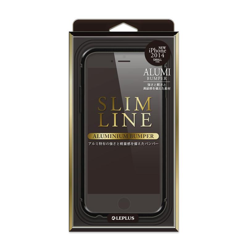 iPhone 6 [SLIM LINE] アルミニウムバンパー ブラック