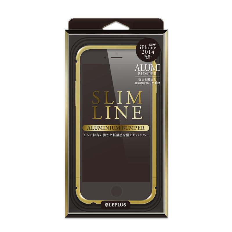 iPhone 6 [SLIM LINE] アルミニウムバンパー ゴールド