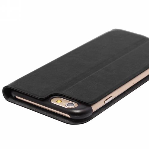 iPhone 6 Plus [PRIME] PUレザーカバー ブラック