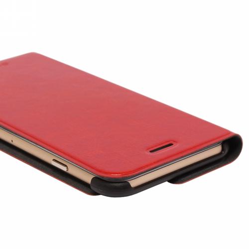 iPhone 6 Plus [PRIME] PUレザーカバー レッド