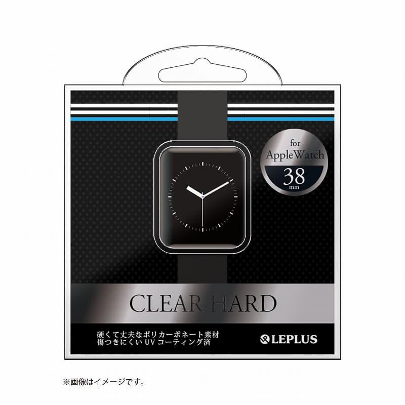 AppleWatch 38mm ハードケース 「CLEAR HARD」 クリアブラック
