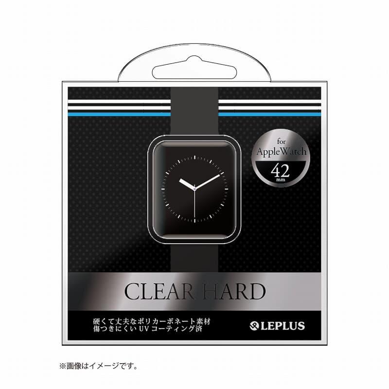 AppleWatch 42mm ハードケース 「CLEAR HARD」 クリアブラック