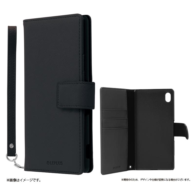 Xperia(TM) Z4 SO-03G/SOV31/402SO ブックタイプPUレザーケース「BOOK S(スマート)」 ブラック