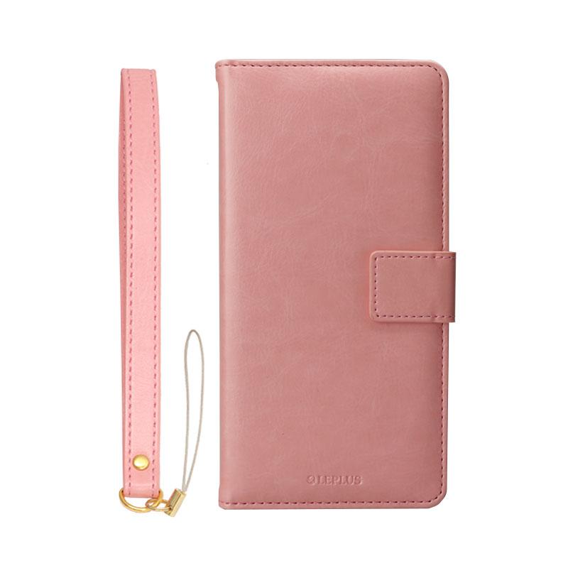 iPhone 6 Plus/6s Plus PUレザーケース「BOOK A」 ピンク