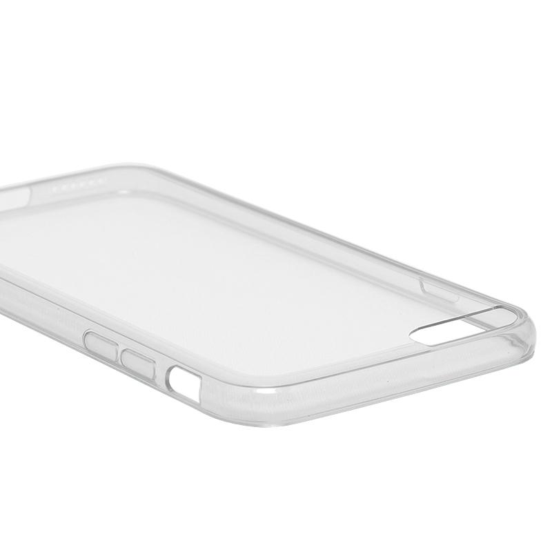 □iPhone 6 Plus/6s Plus [ZERO HV] 超極薄0.5mm ハイブリッドケース クリアスモーク