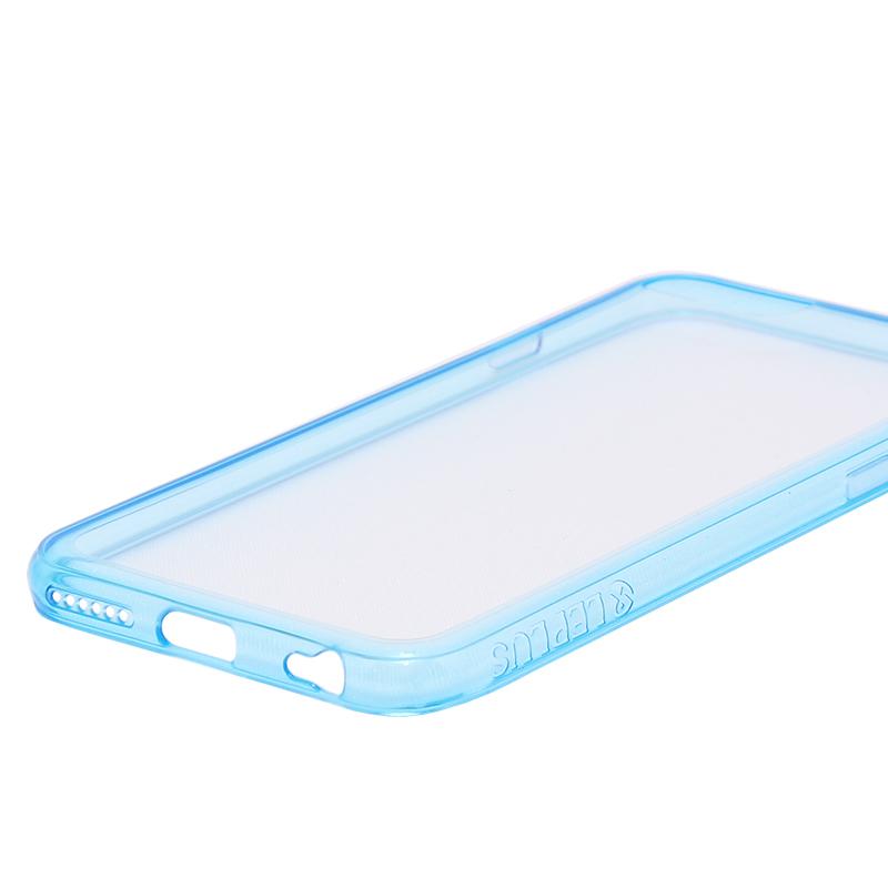 □iPhone 6 Plus/6s Plus [ZERO HV] 超極薄0.5mm ハイブリッドケース クリアブルー