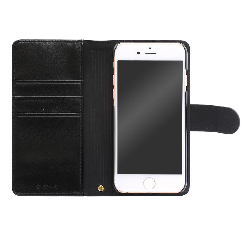 iPhone 6/6s PUレザーケース「BOOK A」 ブラック