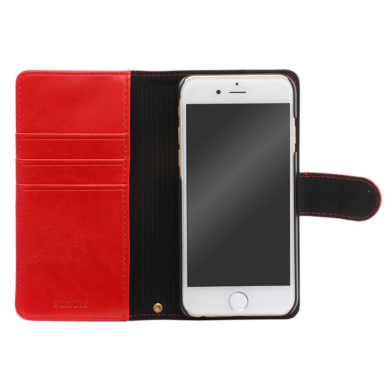 iPhone 6/6s PUレザーケース「BOOK A」 レッド