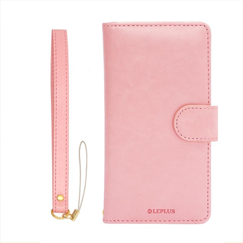 iPhone 6/6s PUレザーケース「BOOK A」 ピンク