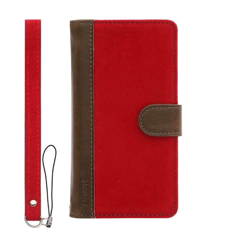 iPhone 6/6s ファブリックデザインケース「BOOK Fabric」 ハーバー(B)