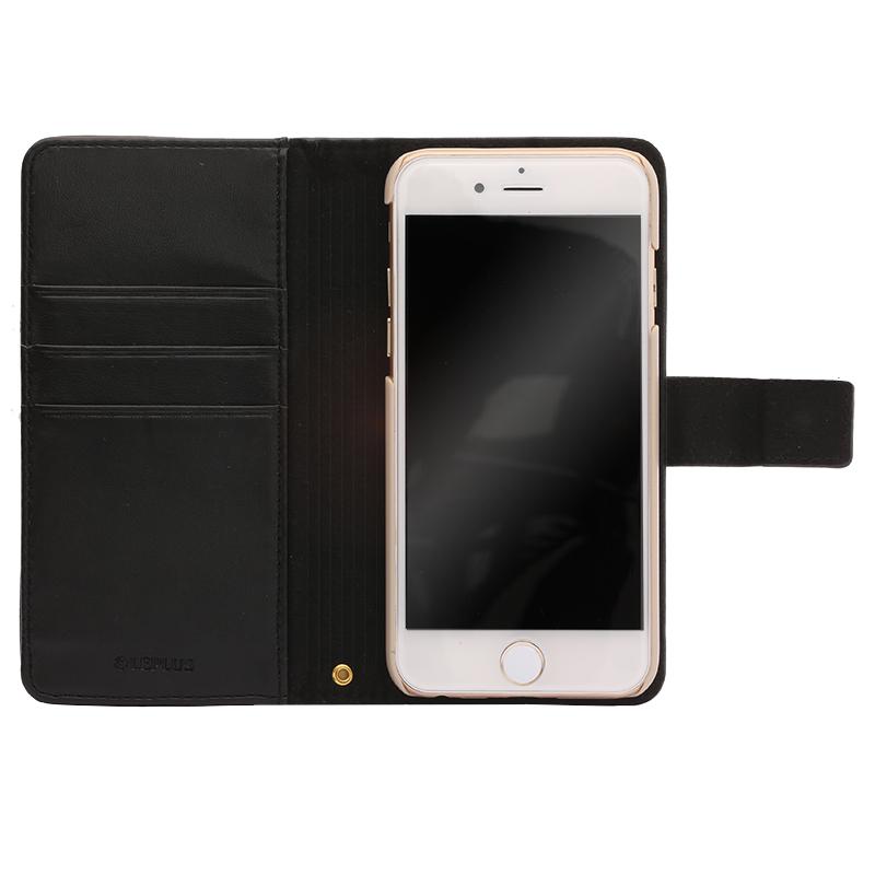 iPhone 6/6s ファブリックデザインケース「BOOK Fabric」 プランター(A)