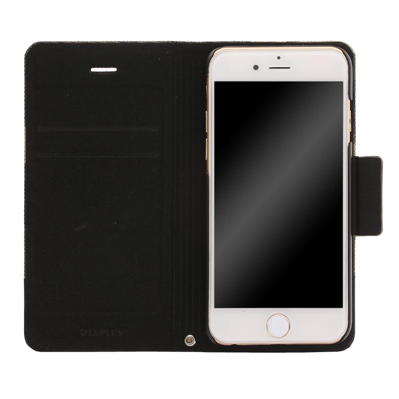 iPhone 6/6s 薄型ファブリックデザインケース「PRIME Fabric」 カモフラージュ(A)
