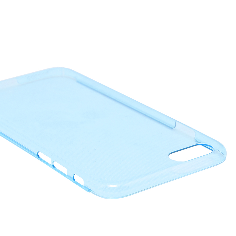 □iPhone 6/6s [ZERO HARD] 超極薄0.5mm ハードケース シルキーブルー