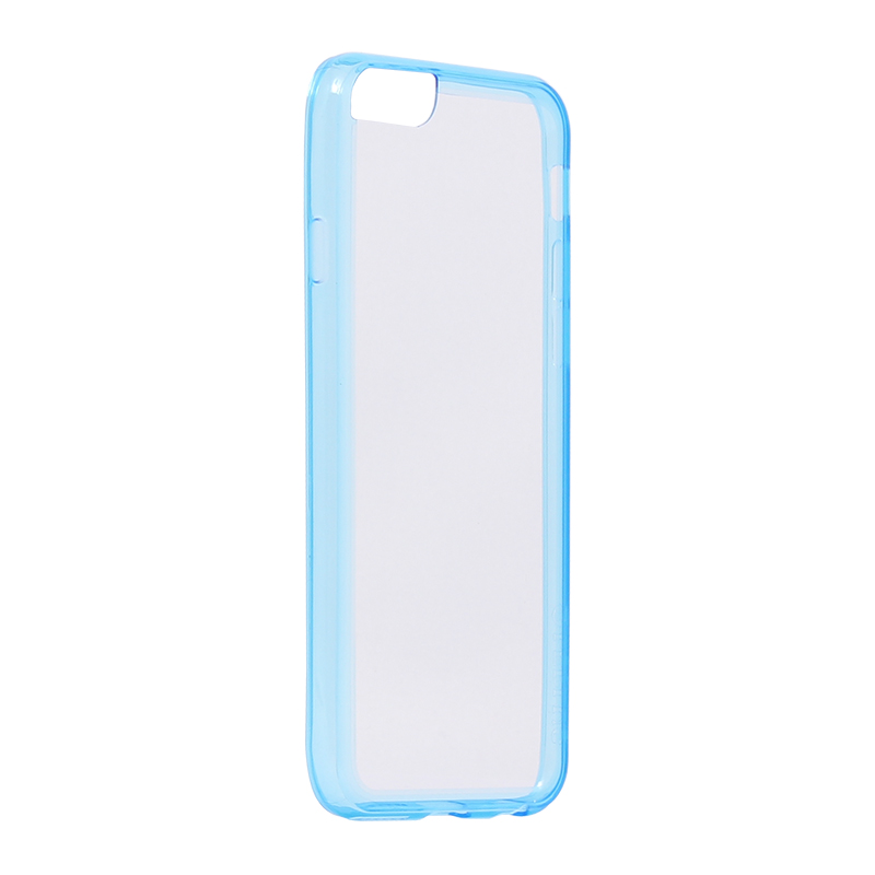 □iPhone 6/6s [ZERO HV] 超極薄0.5mm ハイブリッドケース クリアブルー
