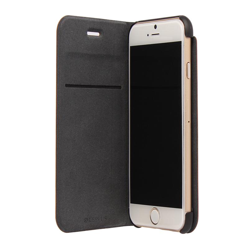 □iPhone 6/6s [PRIME] PUレザーケース ブラック