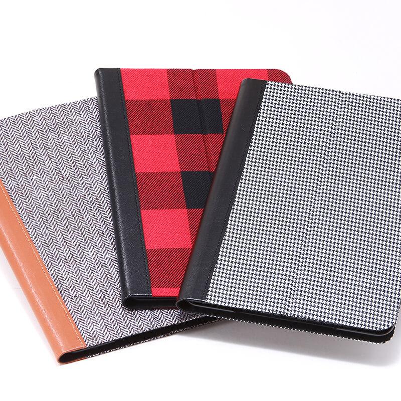 iPad mini 4 薄型ファブリックデザインケース「PRIME Fabric」 ヘリンボーン