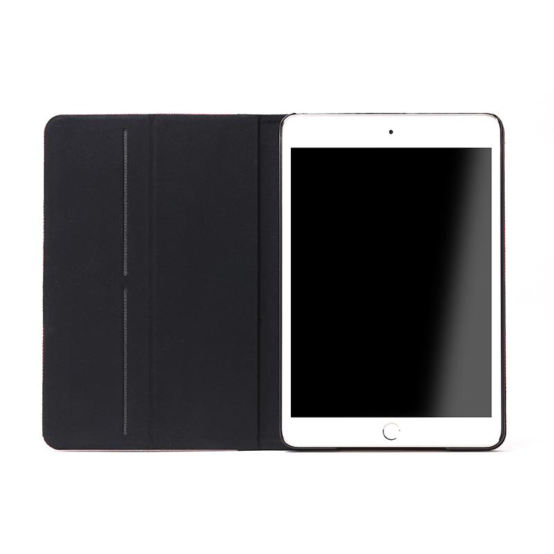 iPad mini 4 薄型ファブリックデザインケース「PRIME Fabric」 チェック柄