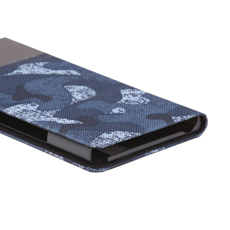 arrows NX F-02H 薄型ファブリックデザインケース「PRIME Fabric」 カモフラ柄(黒)