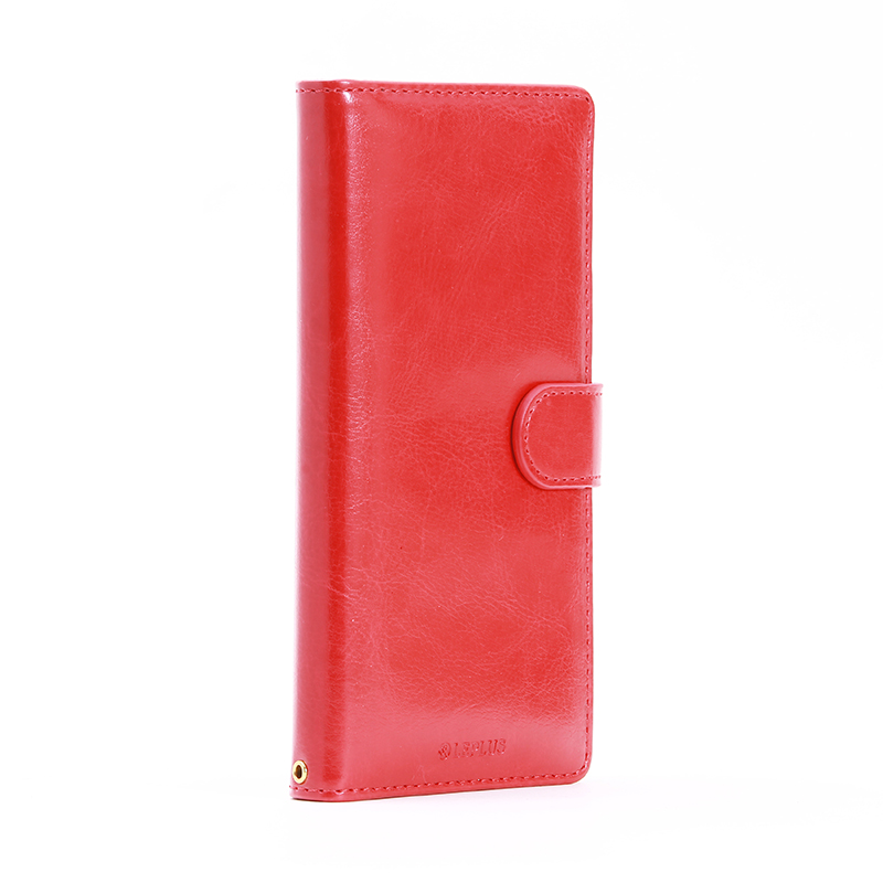 Xperia(TM) Z5 SO-01H/SOV32/501SO ブックタイプPUレザーケース「BOOK A」 レッド