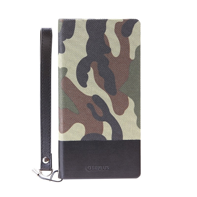 Xperia(TM) Z5 SO-01H/SOV32/501SO 薄型ファブリックデザインケース「PRIME Fabric」 カモフラ柄