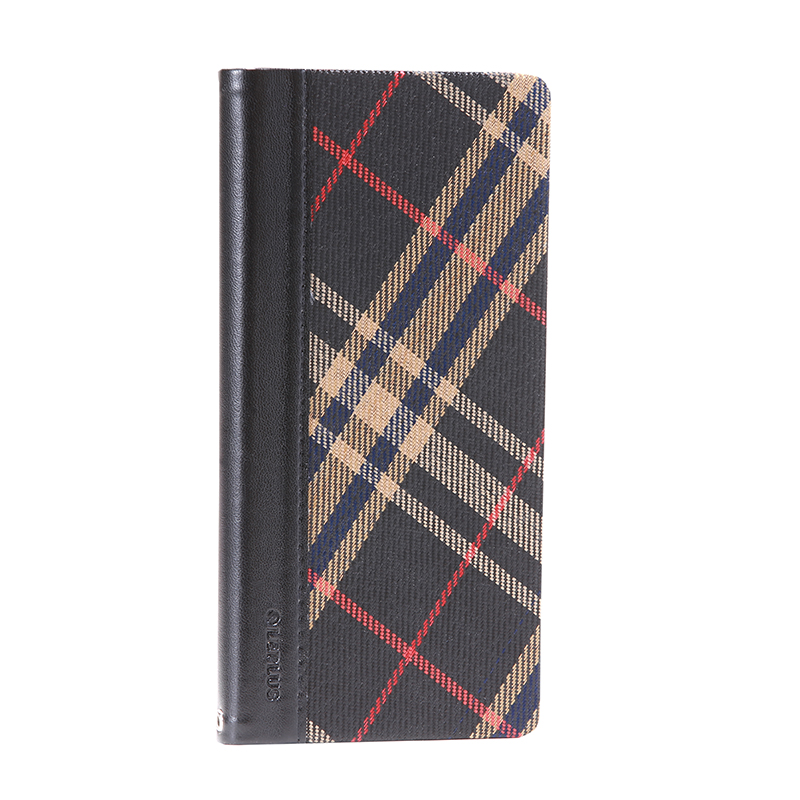Xperia(TM) Z5 SO-01H/SOV32/501SO 薄型ファブリックデザインケース「PRIME Fabric」 チェック柄