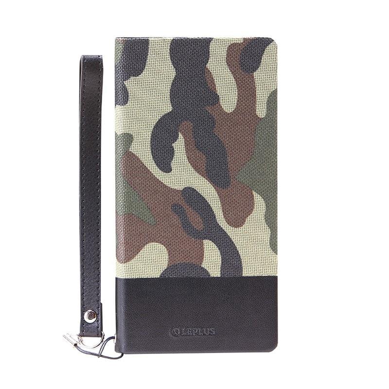 AQUOS ZETA SH-01H/AQUOS Xx2 薄型ファブリックデザインケース「PRIME Fabric」 カモフラ柄