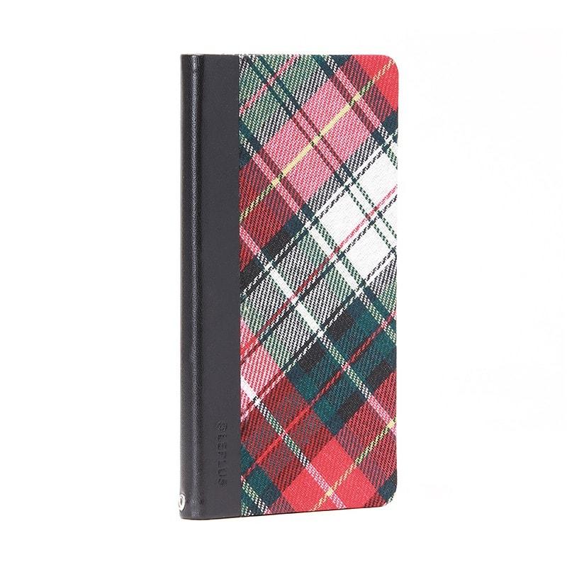 AQUOS ZETA SH-01H/AQUOS Xx2 薄型ファブリックデザインケース「PRIME Fabric」 チェック柄