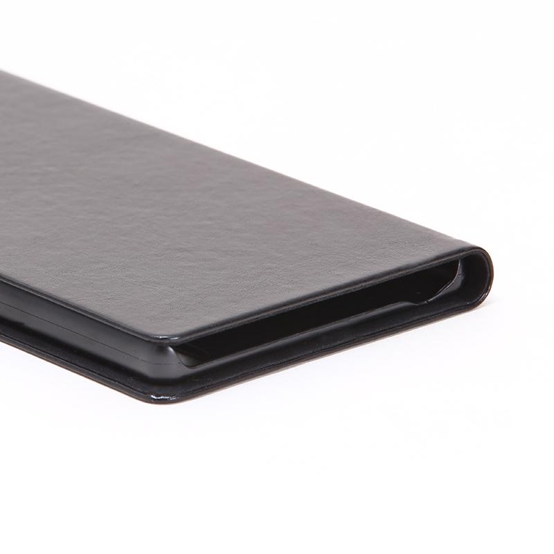 Xperia(TM) Z5 Premium SO-03H 薄型PUレザーケース「PRIME A」 ブラック