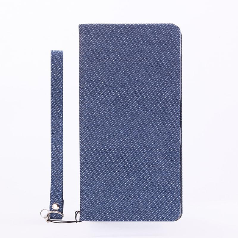 Xperia(TM) Z5 Premium SO-03H 薄型ファブリックデザインケース「PRIME Fabric」 デニム柄